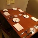 ミノビ - テーブル席