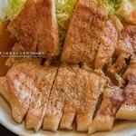 力鶴 - 焼肉定食(にんにくダレ)