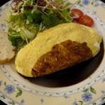 レストラン ミクニ - オムハンバーグ