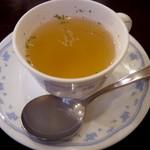 レストラン ミクニ - スープ