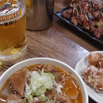 やきとり新盛 - モツ煮、からあげ、焼鳥、ビール!!