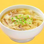 萬珍樓點心舗 - 五目玉子スープ