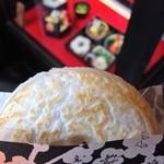 お食事処 かさの家 - 105えん 梅ヶ枝餅2014.1