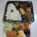 ハチハチ - 料理写真:この日はお昼のお弁当とお惣菜を一つづつ購入して帰りました。