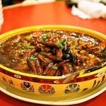 永利 - 2014.1 白身魚と野菜の辛塩煮込み(1,380円)水煮魚片