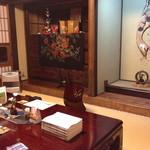 田舎茶屋 千恵 - 座敷「耳成山」