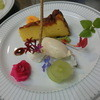 イタリア料理 ピアット ノノ  - 料理写真:ある日のデザートの盛り付け写真