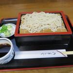 麺どころ かとう - もりそば(630円)
