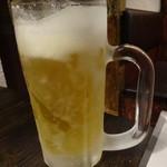 秋田炉端 しげぞう - サッポロビール480円