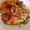 オステリア・ターミア - 料理写真:生ベーコンのトマトスパゲティ(ランチセット)¥900