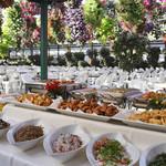 掛川花鳥園 - お料理は約30種類のバイキングです。