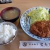 とん次 - 料理写真:中ロースカツ定食1,100円