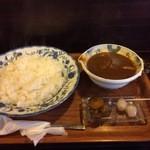 茶豆 - ポークカレー 900円