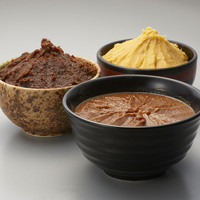 3種の味噌