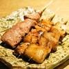 やきとん 喜八 - 料理写真:レバー、シロ、アブラ(1串120円)