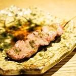 やきとん 喜八 - ハツ香草焼(1串120円)