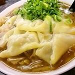 きんか本舗 - ワンタン麺 あんかけ使用