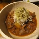 綱べこ - 風呂吹き大根牛すじぼっかけ¥580