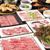 浅草店限定☆飲み放題付き『浅草焼肉祭りコース』5000円!☆