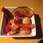 阿佐ヶ谷ロフトA - 野菜のあげびたし。なかなか美味しかったです。