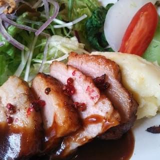 カフェ ド ガモヨン - 料理写真:ある日のランチ