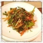 サンジュ - 海鮮フェ(刺身)。辛酸っぱ美味しい!