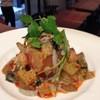 凛丹 - 料理写真:ピータン トマト アボカドの胡麻ソース和えサラダ