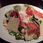 MAIMON - ハモンセラーノとロメインレタスのシーザー風サラダ