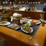 旬菜食健 ひな野 - メインディッシュのコーナー