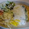 麺家 Dragon kitchen - 料理写真:日替わりランチの海老玉プレート