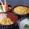 きくよ食堂 - 料理写真:海鮮丼・かに汁・イカ刺身等