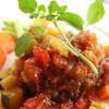 ランドヴェグ - 料理写真:トマトハンバーグ