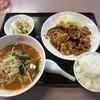 大清 - 料理写真:グルメBランチ¥750(生姜焼きver)
