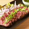 旬彩 - 料理写真:A5黒毛和牛炙り 最高の肉質です!