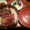 仲むら - 料理写真:うな丼 1700円。  肝吸い、漬物付き。