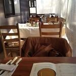 森の中の朝食とカフェの店 キャボットコーヴ - 冬のテラス席