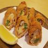 はし清 - 料理写真:野菜とチーズの肉巻きフライ 650円