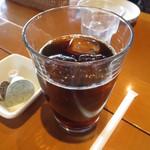 檪の丘 - アイスコーヒー 400円