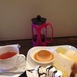 カフェ スマイル - デザートプレート