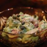 貝と海老そして蟹 - アボカドのサラダ