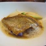 フィデリテ - メイン:真鯛のポアレ