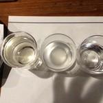 23830213 - 而今(じこん)特別純米酒 の三種
