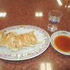 餃子の王将 - 料理写真:餃子(焼レバー定食)