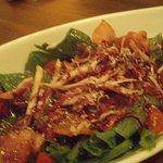 kocoroya - ほうれん草とベーコンのサラダ