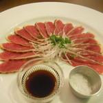 クーカイ - 合鴨のタタキ、塩で
