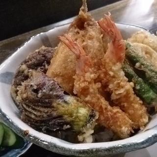 天ぷら岡本 - 料理写真:上天丼