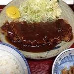 呑喰処 とんかつ 寿々女 - 味噌カツ定食
