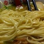 らぁ~めん京 - 麺