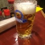 やきとり平助 - 生ビール 450円