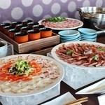 一舞庵 - ランチブッフェの多彩な料理